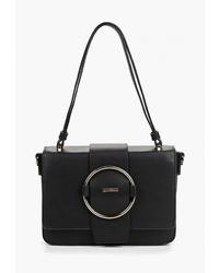 Черная кожаная сумка-саквояж от Wittchen