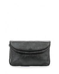 Черная кожаная сумка через плечо от Kawaii Factory