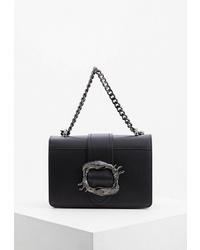 Черная кожаная сумка через плечо от Nano de la Rosa