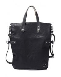 Черная кожаная сумка через плечо от NOOSA-Amsterdam