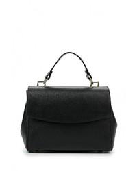 Черная кожаная сумка через плечо от Roberta Rossi