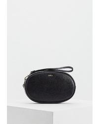 Черная кожаная сумочка от Furla