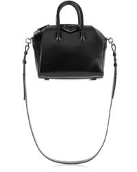 Женская черная кожаная сумочка от Givenchy