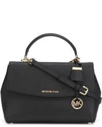 Черная кожаная сумочка от MICHAEL Michael Kors