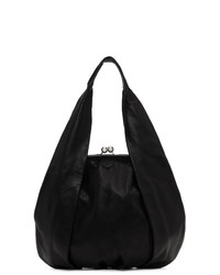 Черная кожаная сумочка от Ys