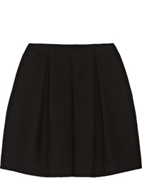 Черная короткая юбка-солнце от Fendi
