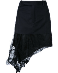 Черная кружевная мини-юбка от A.F.Vandevorst