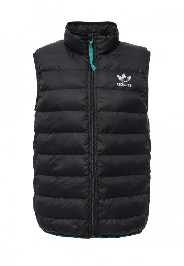 5e9c3e08 Мужская черная куртка без рукавов от adidas Originals, 7 999 руб ...