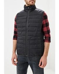 Мужская черная куртка без рукавов от Baon