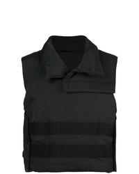 Мужская черная куртка без рукавов от Julius