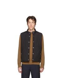 Мужская черная куртка без рукавов от MACKINTOSH