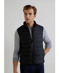 Мужская черная куртка без рукавов от Mango Man