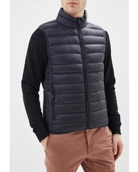 Мужская черная куртка без рукавов от United Colors of Benetton