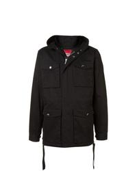 Мужская черная куртка в стиле милитари от Mostly Heard Rarely Seen 8-Bit