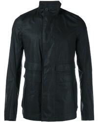 Мужская черная куртка в стиле милитари от Rick Owens