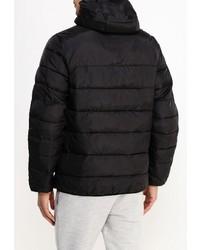 Мужская черная куртка-пуховик с принтом от Atributika & Club™