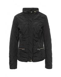 Женская черная куртка-пуховик от B.Style