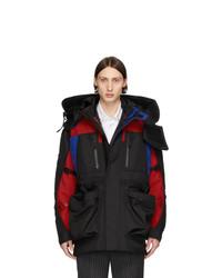 Мужская черная куртка-пуховик от Burberry