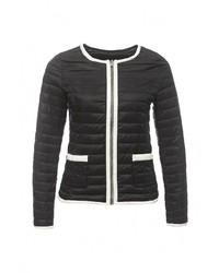 Женская черная куртка-пуховик от By Swan