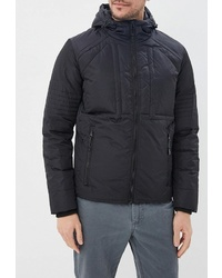 Мужская черная куртка-пуховик от Colin's