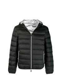 Мужская черная куртка-пуховик от Emporio Armani
