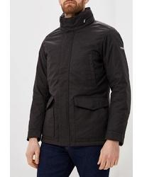 Мужская черная куртка-пуховик от Hackett London