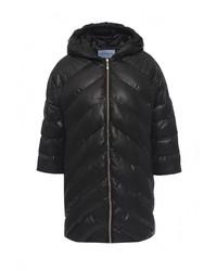 Женская черная куртка-пуховик от Imocean