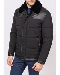 Мужская черная куртка-пуховик от Kanzler