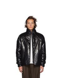 Мужская черная куртка-пуховик от Kassl Editions