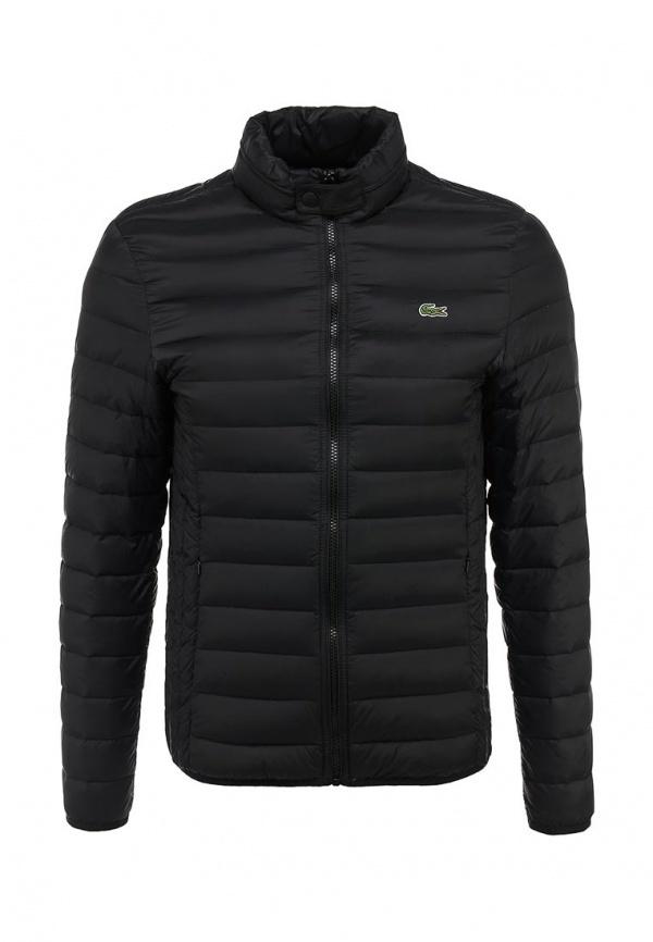 f9f6dbf0e7e5 Мужская черная куртка-пуховик от Lacoste   Где купить и с чем носить