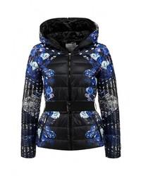 Женская черная куртка-пуховик от Lawine