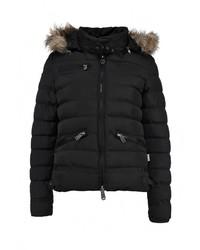 Женская черная куртка-пуховик от Lonsdale