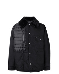 Мужская черная куртка-пуховик от Maison Margiela