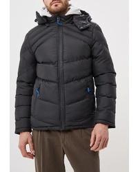 Мужская черная куртка-пуховик от Mezaguz