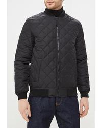 Мужская черная куртка-пуховик от Modis