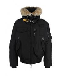 Мужская черная куртка-пуховик от Parajumpers