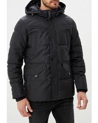 Мужская черная куртка-пуховик от s.Oliver