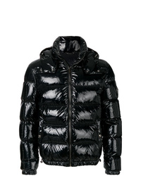 Мужская черная куртка-пуховик от Versace