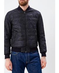 Мужская черная куртка-пуховик от Winterra