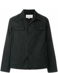 Черная куртка-рубашка