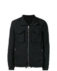 Мужская черная куртка-рубашка от Belstaff