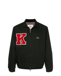 Мужская черная куртка-рубашка от Kent & Curwen