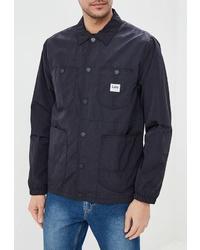 Мужская черная куртка-рубашка от Lee