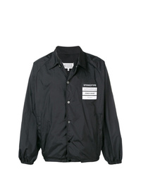 Мужская черная куртка-рубашка от Maison Margiela