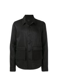Мужская черная куртка-рубашка от RtA