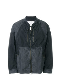 Мужская черная куртка-рубашка от White Mountaineering