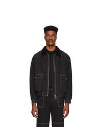 Черная куртка харрингтон от Andersson Bell