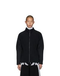Черная куртка харрингтон от Homme Plissé Issey Miyake