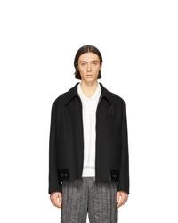 Черная куртка харрингтон от Our Legacy