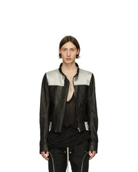 Черная куртка харрингтон от Rick Owens